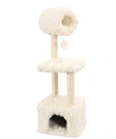 Домик для кошки из меха