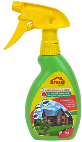 Аргус— аэрозоль для обработки приусадебного участка против клеща