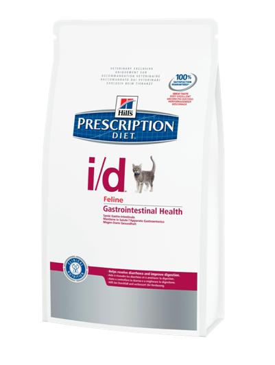 Корм лечебный при желудочно-кишечных заболеваниях кошек