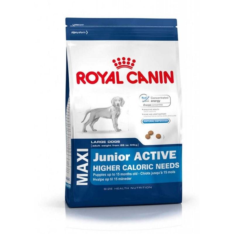 Royal Canin для крупных пород, активных щенков