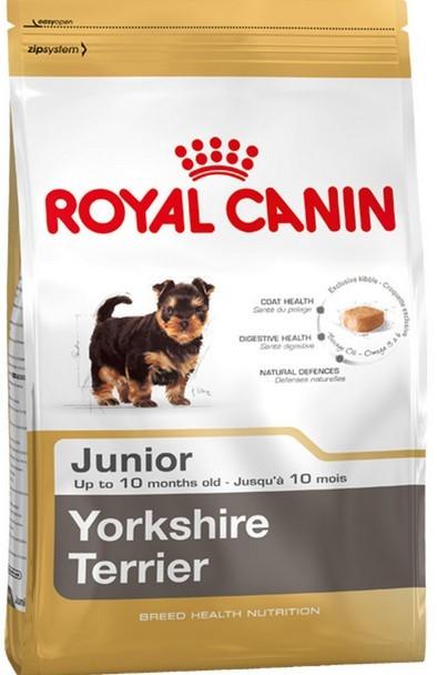 Сухой специализированный корм Royal Canin для щенят йорка