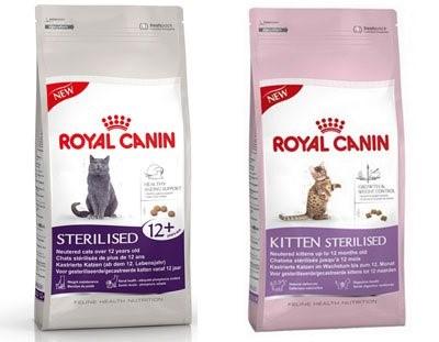 Royal Canin для стерилизованніх кошек и котят