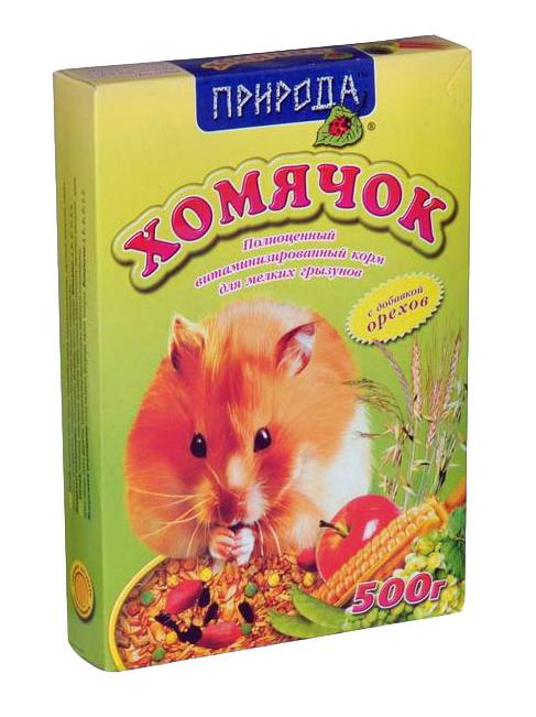 Витаминный корм для хомяков