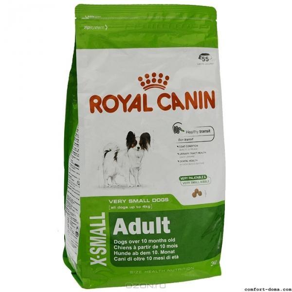 Внешний вид упаковки Royal Canin