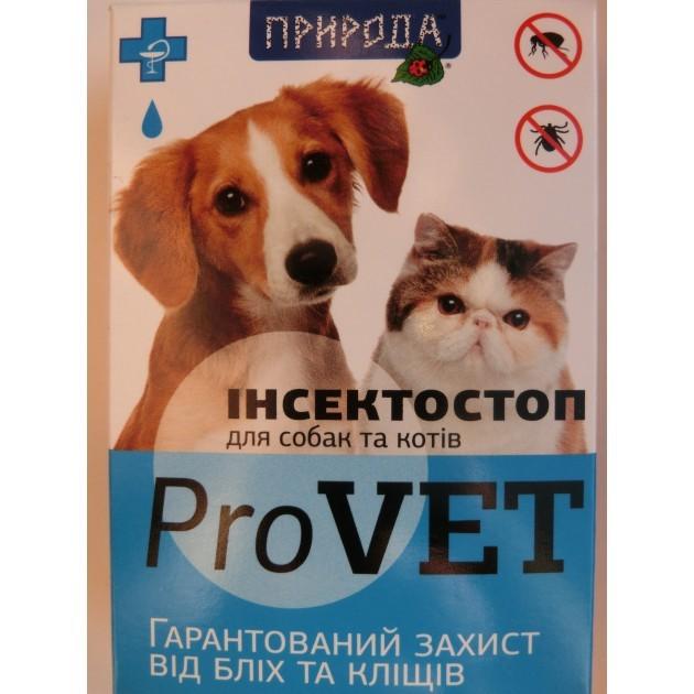 ИнсектоСтоп — капли на холку для собак