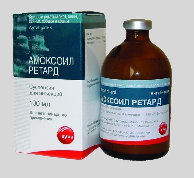 Амоксоил Ретард – стерильный раствор для инъекций