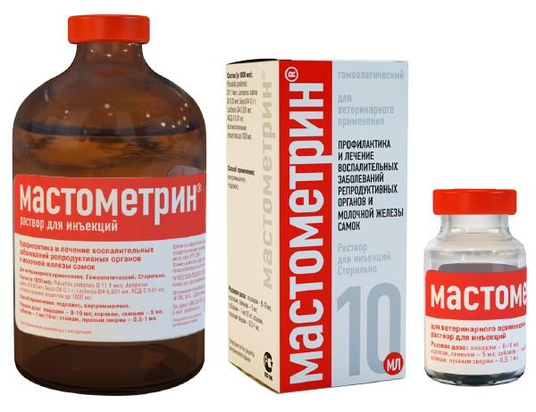 Мастометрин – эффективное средство при лечении мастита у животных