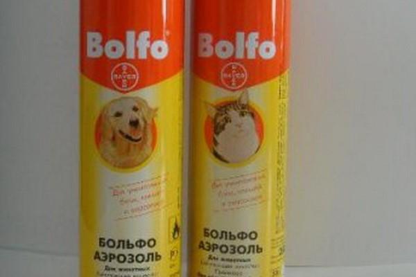 Больфо-аэрозоль от блох для животных