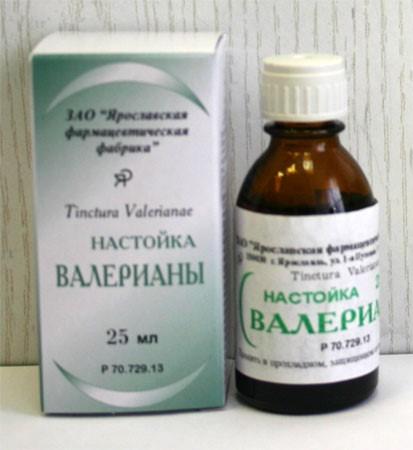 Настойка валерианы лекарственной