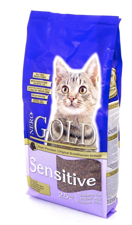 Корм для кошек с чувствительным пищеварением